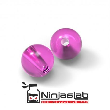 Plastic Beads Pink