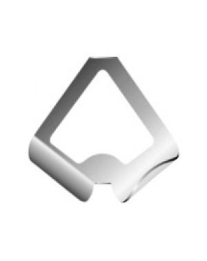 Lama in alluminio ritagliata