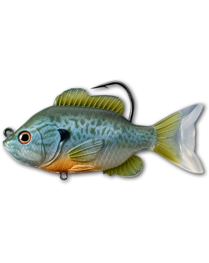 Sunfish Swimbait - Col.551 Natural - Blue Pumpkinseed