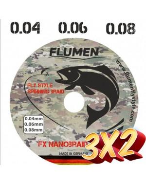 3x2 FX Fly Style Nanobraid