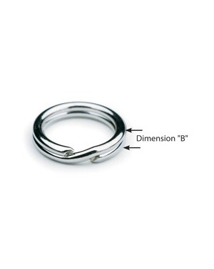 Heavyweight Split Rings - Size 4