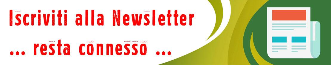 Iscrizione newsletter Extrafg